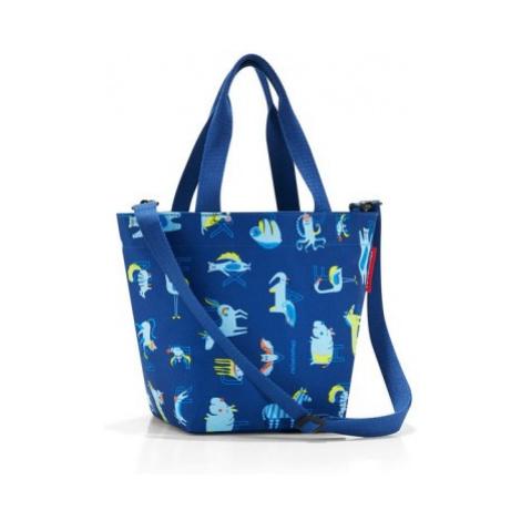 Dětská taška přes rameno Reisenthel Shopper XS kids Abc friends blue