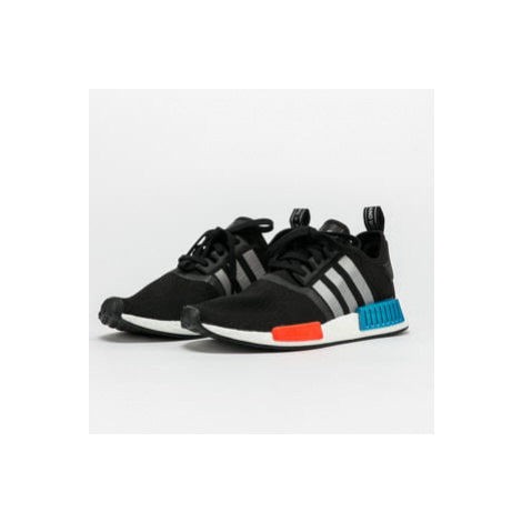 adidas Originals NMD_R1 core black / silver metallic / solar red