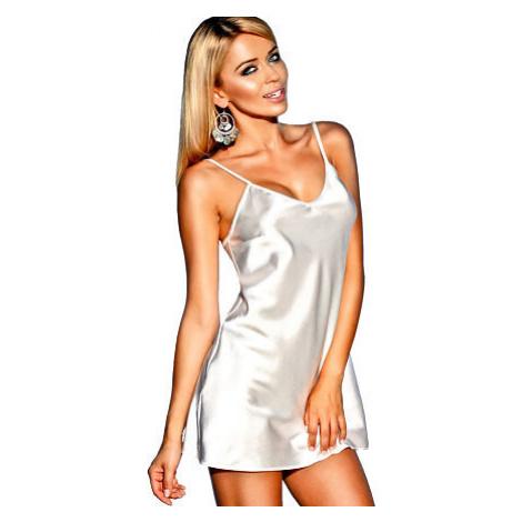 Saténová košilka Ibiza bílá Kalimo