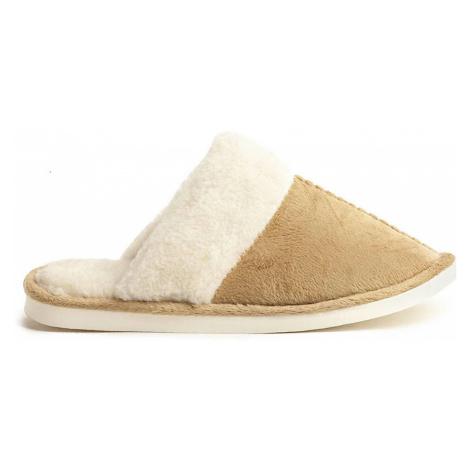 Papuče COMFY Béžové Uni Oldcom