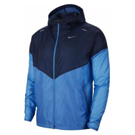 Nike WINDRUNNER JKT M modrá - Pánská běžecká bunda