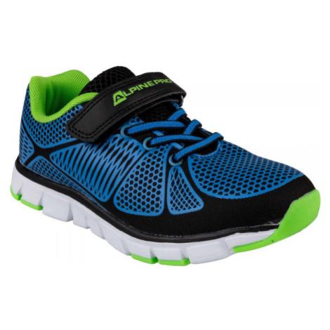 ALPINE PRO FISHERO tmavě modrá - Dětská sportovní obuv