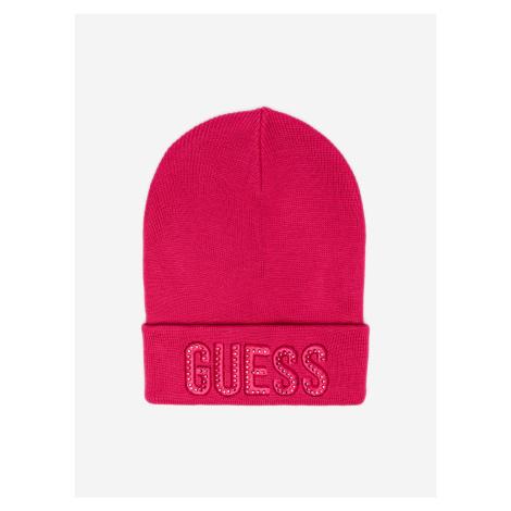 Čepice dětská Guess Růžová