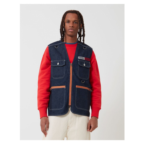 Tommy Hilfiger Tommy Jeans pánská denim vesta Denim Fishing Gilet