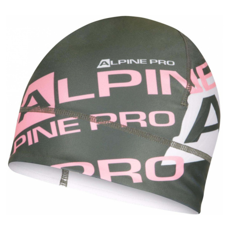 ALPINE PRO MAROG Unisex sportovní čepice UHAS061558PB petrol