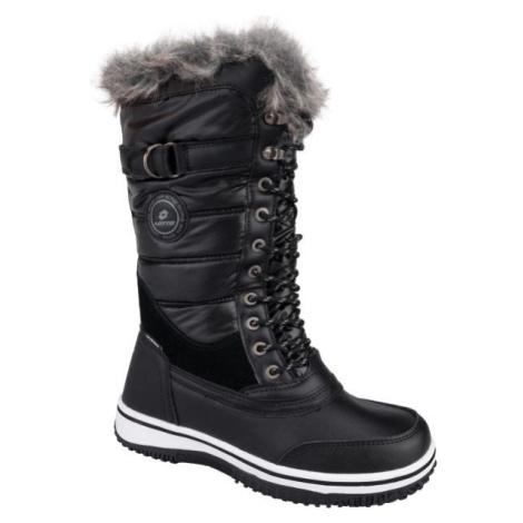 Lotto CAPRI černá - Dámská zimní obuv