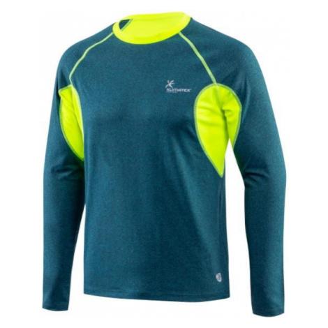 Tričko Klimatex CRUZ Modrá / Zelená