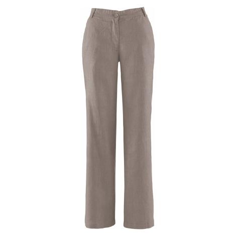 Lněné kalhoty Bonprix