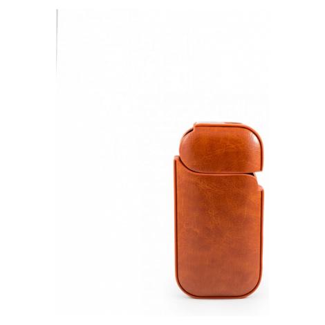 Kožený obal pro Iqos - hnědý
