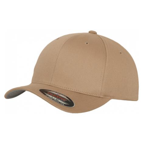 Brandit Čepice Baseball Cap Flexfit Wooly Combed béžová