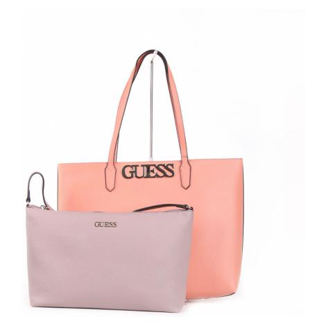 Guess dámská velká broskvová kabelka Shopper