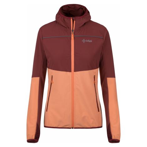 Dámská outdoorová bunda KILPI JOSHUA-W oranžová