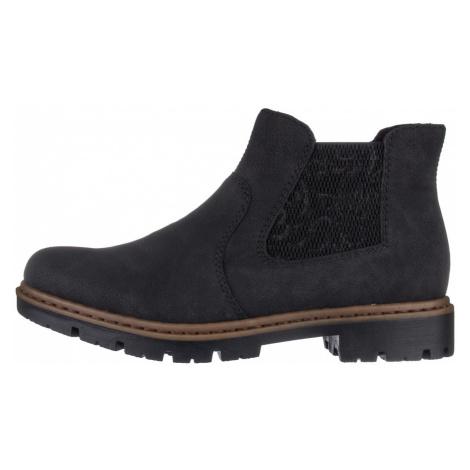 RIEKER, Kotníčková obuv  71364-00 černá EU 37
