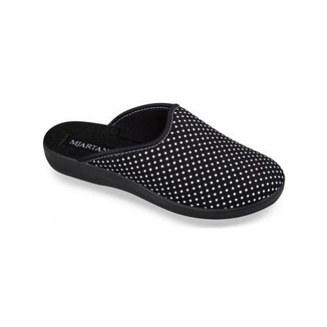 Mjartan Dámske papuče ADEL 6 Černá