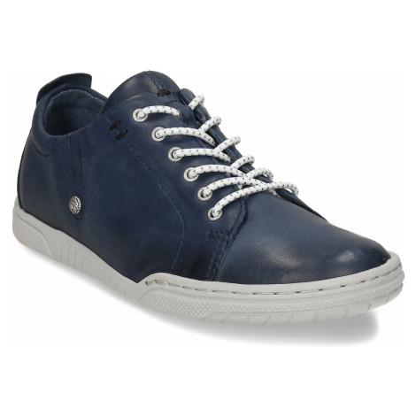 Dámská modrá vycházková obuv Baťa