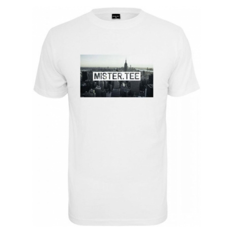 Mister Tee Skyline Tee - white Urban Classics