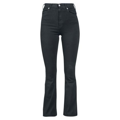 Dr. Denim Moxy Flare Dámské džíny černá