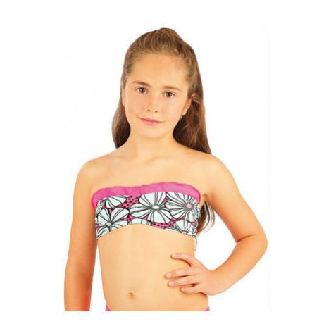 Dívčí plavková podprsenka Litex 88448 | růžová