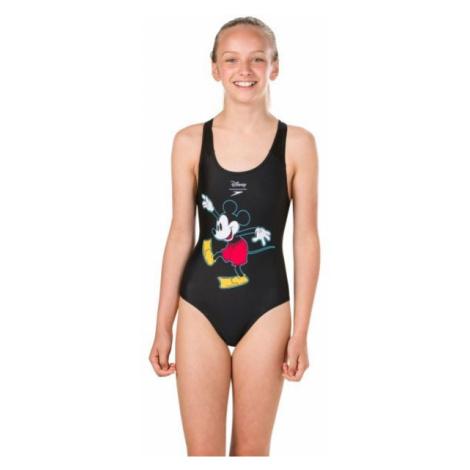 Speedo DISNEY MICKEY MOUSE 1PCE černá - Dívčí plavky