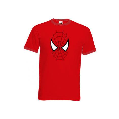 Pánské tričko s kontrastními lemy Spiderman