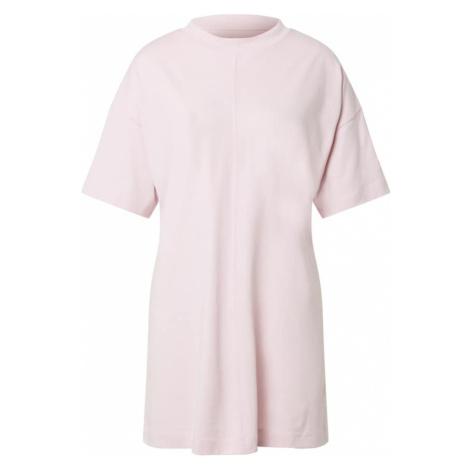 Reebok Classics Maxi šaty 'Myt' světle růžová / zlatá / bílá