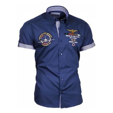 BINDER DE LUXE košile pánská 82604 krátký rukáv