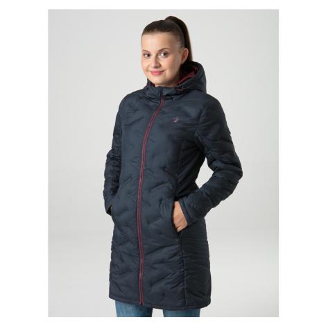 Loap Itika dámský zimní kabát modrý