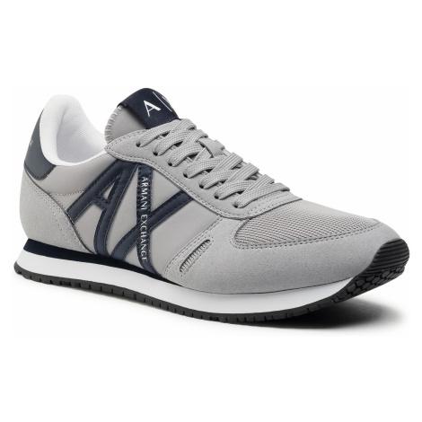 Sneakersy ARMANI EXCHANGE - XUX017 XCC68 K531 Grey/Navy