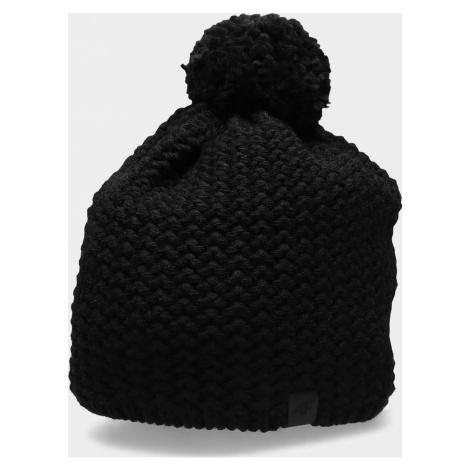 Pánská zimní čepice 4F CAM154 Černá Černá