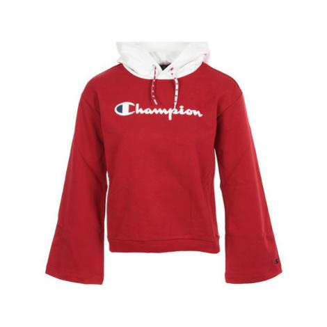 Champion Hooded Sweatshirt Wn's Červená