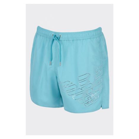 Emporio Armani Underwear Emporio Armani plavky pánské - tyrkysové