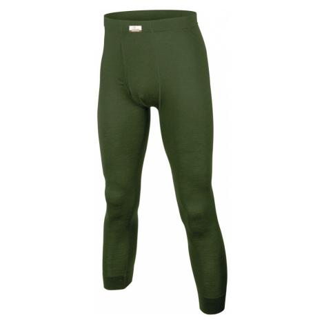 Pánské vlněné Merino spodky Lasting ATOK - zelené