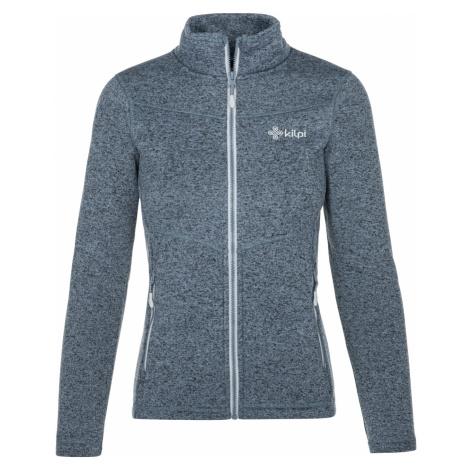 KILPI Dámský fleecový svetr - větší velikosti REGIN-W NLX018KIBLU Modrá