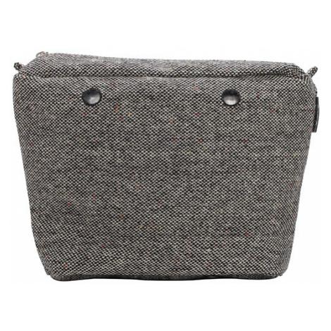 Obag vnitřní taška vlna puntinato šedá / černá