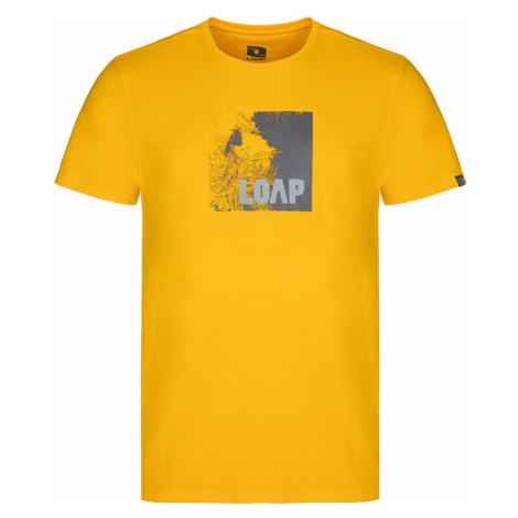LOAP ALIEN Pánské triko CLM2072C59C Žlutá