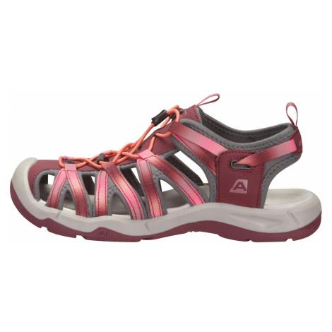 Letní sandály Alpine Pro LANCASTER 3 - fialová