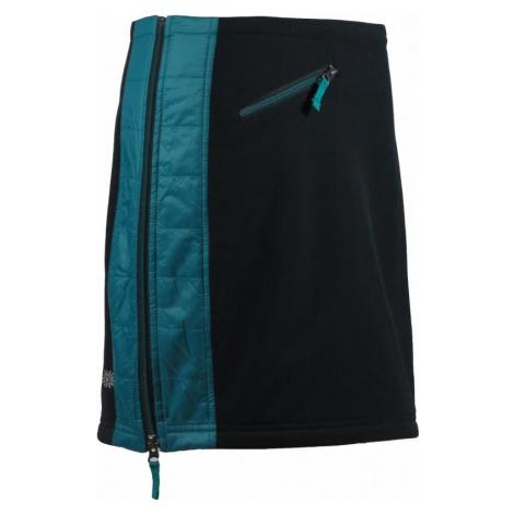 Zimní softshellová sukně Skhoop Elina Short deep lake
