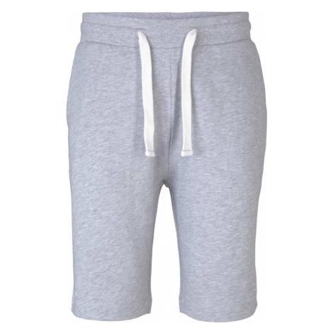 TOM TAILOR Kalhoty šedý melír