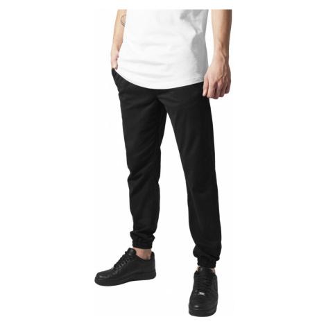 Stretch Twill Jogging Pants - black Urban Classics