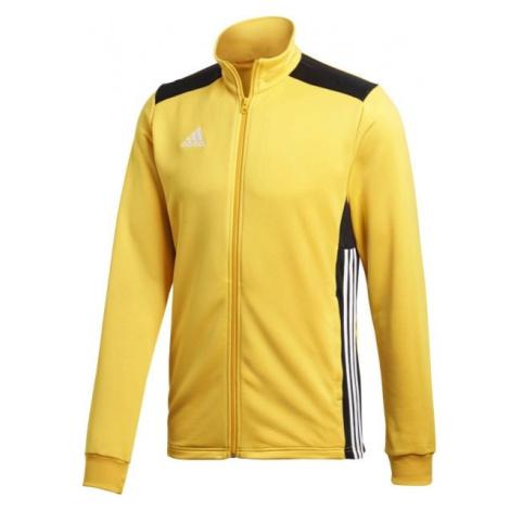adidas REGI18 PES JKT žlutá - Pánská fotbalová bunda