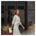 Chytré Hodinky Fitbit Sense White/soft Gold Stainless Steel