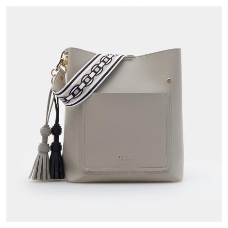 Mohito - Kabelka tote s klíčenkou - Světle šedá