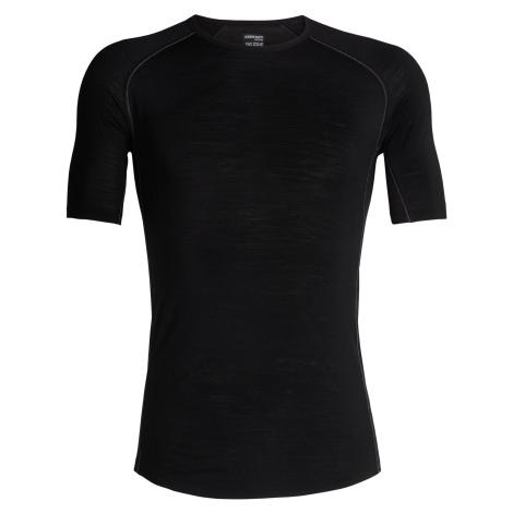 Pánské triko krátký rukáv ICEBREAKER Mens 150 Zone SS Crewe, Black