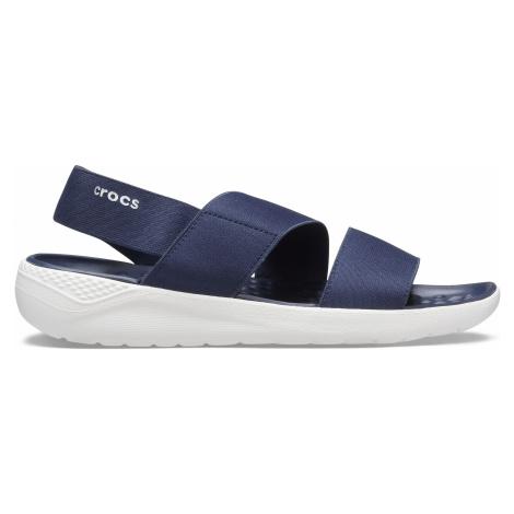 Crocs Women's LiteRide™ Stretch Sandal Navy/White