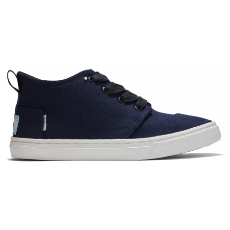 NAVY CANVAS YT BOTACP SNEAK Toms