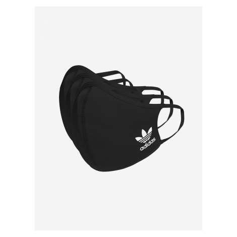 Rouška 3 ks adidas Originals Černá