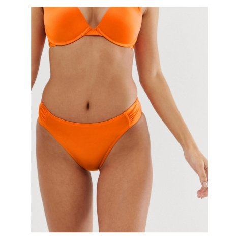 Dorina hipster bikini bottom in orange