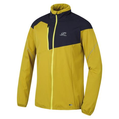 HANNAH KSAWERY Pánská sportovní bunda 10002829HHX01 citronelle/midnight navy