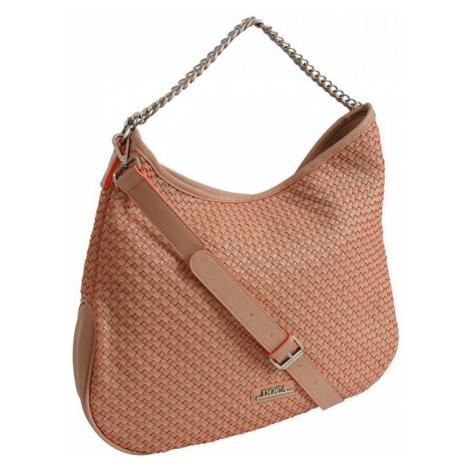 Dámská kabelka Doca 12159 - oranžová