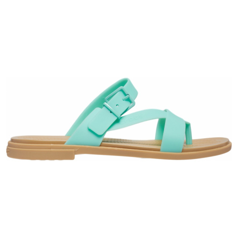 Dámské sandále Crocs TULUM TOE Sandal tyrkysová